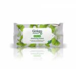 Ginkgo Natural přírodní čistící a odličovací ubrousky - 10 ks
