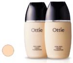 Real Skin make up No.2 tekutý krycí hydratační - světle růžová - smíšená a mastná pleť 30ml