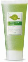 Green Tea smývatelná pleťová maska se zeleným čajem - hydratační, výživná