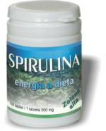 Spirulina 500mg - potravinový doplněk při dietě, hubnutí, dodává energii 100 tablet