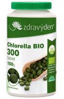 Chlorella BIO 100% přírodní doplněk stravy 300 tablet