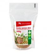 Směs semen na celoroční klíčení BIO - alfalfa, ředkvička, mungo 200g