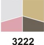 Entia luxusní oční stíny 4 kombinace - mění odstín z různých úhlů pohledu 7g