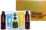 Sereve Cure & Hair dárková kazeta - šampón 2x 250g, kondicionér 120g, čistící pěna 120ml, pleťový krém 80g+2x3,5g
